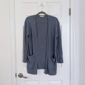 Madewell Sweaters - Madewell Heather Ocean Blue Summer Ryder Cardigan
